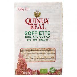 Soffiette de Arroz Con Quinoa Ecológico Quinua Real Sin Gluten 130 G.
