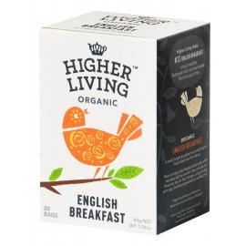 Té English Breakfast 20 Bolsas Higher Living