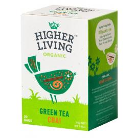 Té Verde Chai 20 Bolsas Higher Living