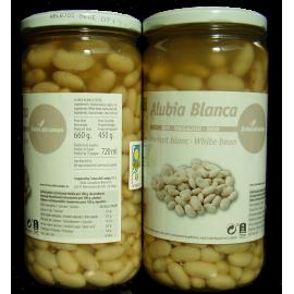 Alubia Blanca Bio Conserva En Cristal 660 Gr.