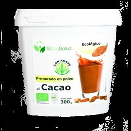 Preparado de Cacao Con Agave -Bio- 300Gr.