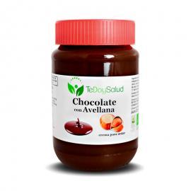 Crema Chocolate y Avellana Ecológico 375Gr. Tedoysalud