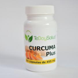 Cápsulas de Cúrcuma + Pimienta Bio 455 Mg 60 Cap. Ecológico. Tedoysalud.