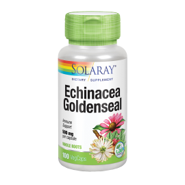 Echinácea & Goldenseal 500 Mg 100 Caps. Solaray