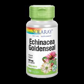 Echinácea & Goldenseal 500 Mg 100 Caps. Solaray