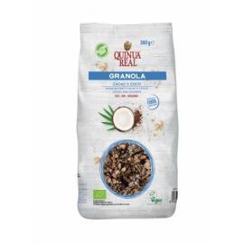 Granola de Quinoa Real Con Cacao y Coco Bio Sin Gluten 360Gr