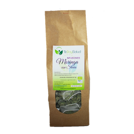 Infusión de Moringa Con Stevia Bio 45 Bolsitas Tedoysalud