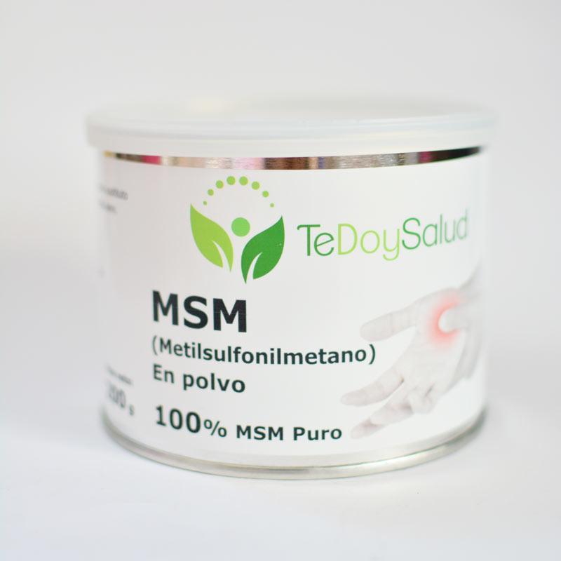 Msm (Metilsulfonilmetano) En Polvo. 200G