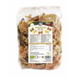 Pasta Mariposas Tricolor 500 Gr