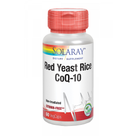 Red Yeast Rice Q10 - 60 Cápsulas. Solaray