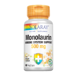 Monolaurin 500Mg 60 Cap. Solaray