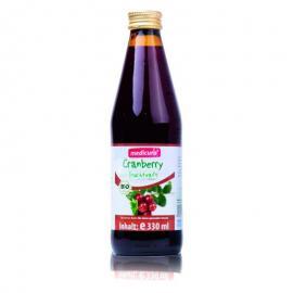Zumo de Arándano Rojo 100% Bio 330 Ml. Medicura