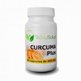 Cúrcuma Plus (Con Pimienta Negra) - 60Cáps./455 Mg. Tedoysalud