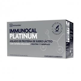 Inmunocal Platinum - Precusor del Glutatión 30Ud./300Gr. (Aislado de Proteína de Suero Lácteo Con Císteina Enlazada, Creatina y Minerales)
