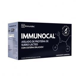 Inmunocal - Precusor del Glutatión 30Ud./300Gr. (Aislado de Proteína de Suero Lácteo Con Císteina Enlazada)