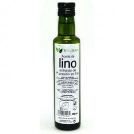 Aceite de Lino Dorado Bio 250 Ml Tedoysalud