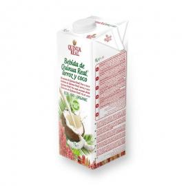 Bebida Quinoa, Arroz y Coco Bio 1L.