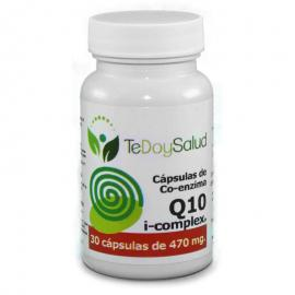 Cápsulas Co-Enzima Q10 Ecológica 470 Mg 30 Und. Tedoysalud