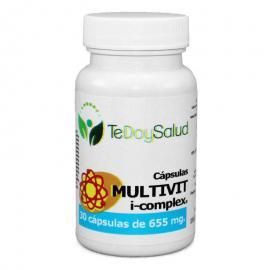 Multivit Icomplex 30 Cápsulas de 655 Mg Mensan