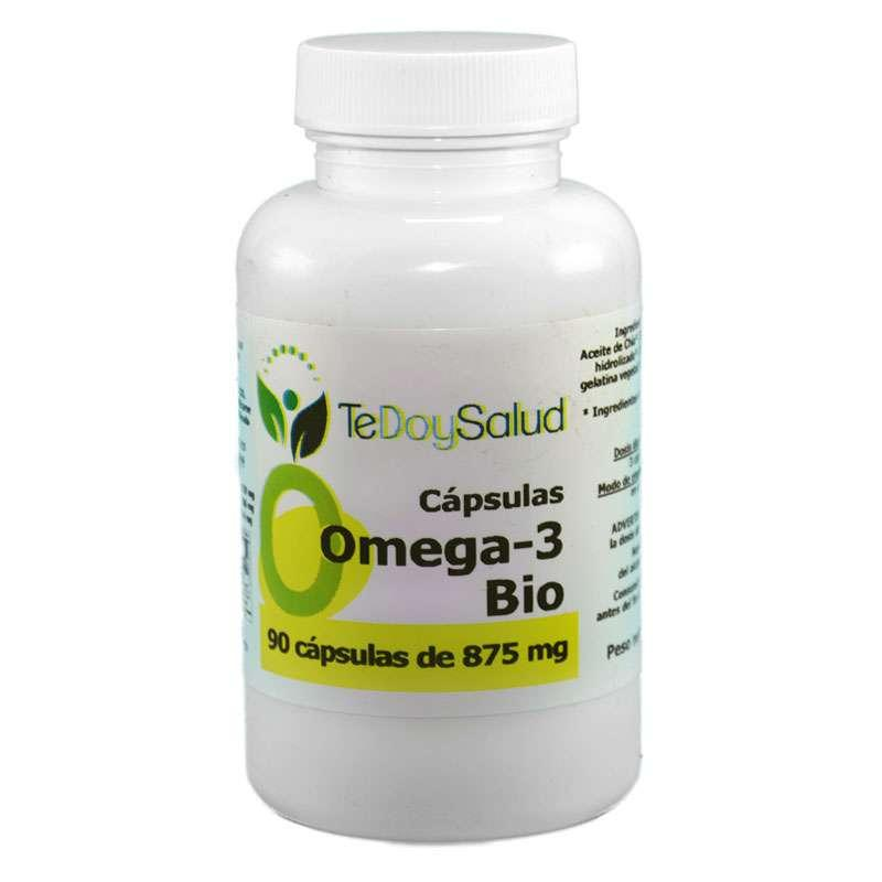 Cápsulas Omega-3 Bio (Aceite de Chía) 875 Mg Tedoysalud