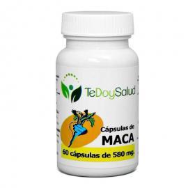 Cápsulas Vegetales de Maca Bio 580 Gr. 60 Und. Tedoysalud