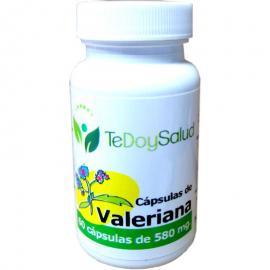 Cápsulas Vegetales Valeriana 60 Uds. 580 Mg. Tedoysalud