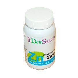 Cápsulas Zinc  30 Uds.  275 Mg. Tedoysalud