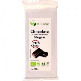 Chocolate Negro Ecológico (70% Cacao) 100Gr. Tedoysalud