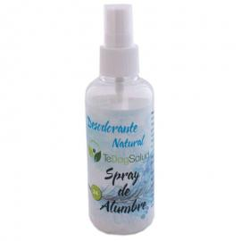 Desodorante En Spray de Alumbre 100 Ml Tedoysalud