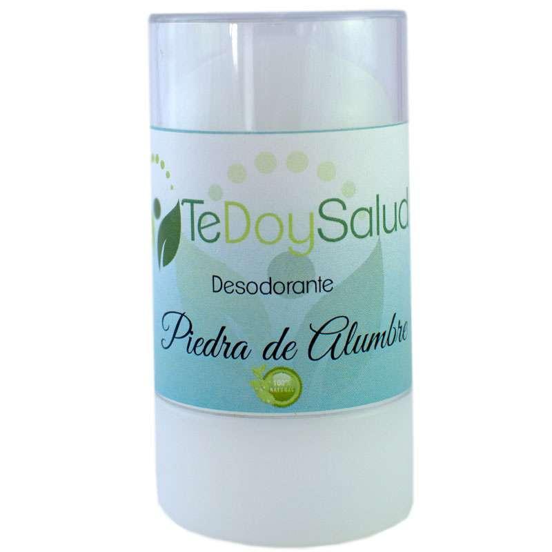 Desodorante Piedra de Alumbre Natural Bio 120 Gr. Tedoysalud