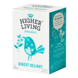 Infusión Digestiva Digest Delight 15 Bolsitas Higher Living