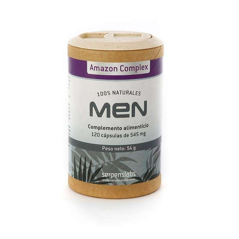 Men Vigorizante Natural Bio 120Cap. - Amazon Complex