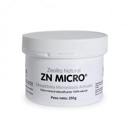 Zeolita Natural Zn Micro 180Cáps./500Mg. - Zeocat
