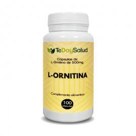 L - Ornitina - 100Cáps/500Mg. - Tedoysalud
